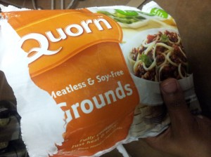 My 'ground meat'!